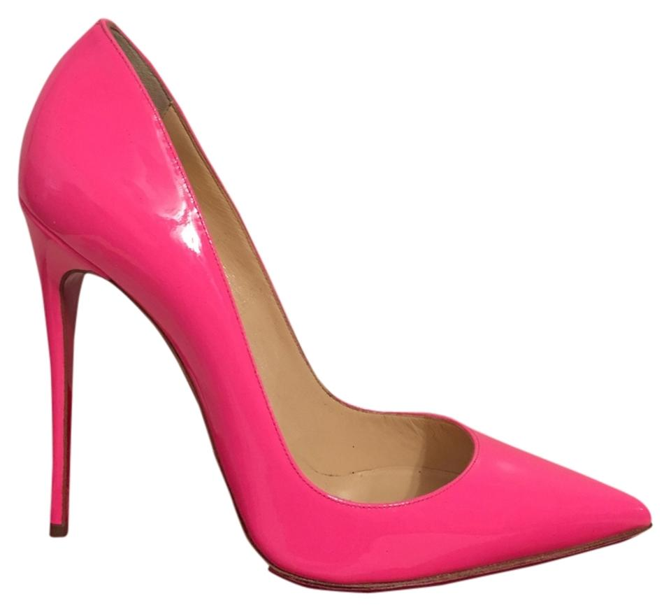 eabad4a4ac505 Christian Louboutin Pink So Kate Hot Patent Leather Eu 40 - 9.5 ...