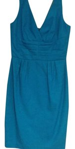 Trina Turk short dress Turquoise on Tradesy