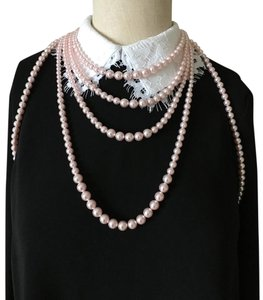 Chanel Chanel Pink Pearl Necklace Bodysuit Runway Limited Edition
