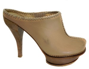 Donald J. Pliner J Womens Tan Mules