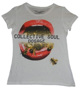 Control Collective Soul Concert T Shirt White