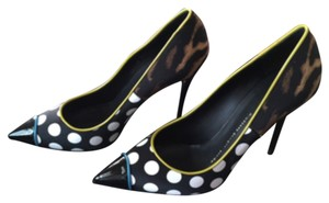 Giuseppe Zanotti Black, White, Yellow, Brown, Blue Pumps