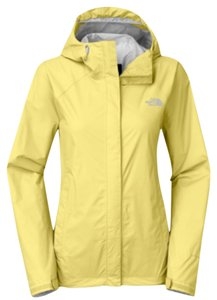 The North Face Light Yellow Jacket