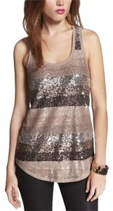Express Top Lavender Sequin Lace