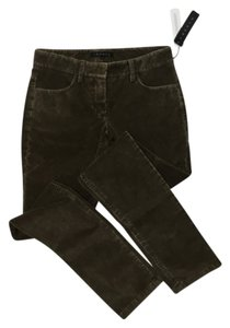 Theory Boot Cut Pants Dark green