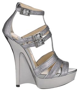 Jimmy Choo Pewter/Silver/