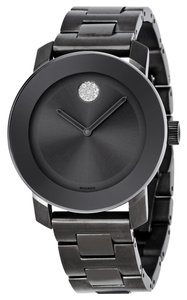 Movado MOVADO Bold Grey Metallic Grey ion-Plated Stainless Steel Men's Watch 3600103