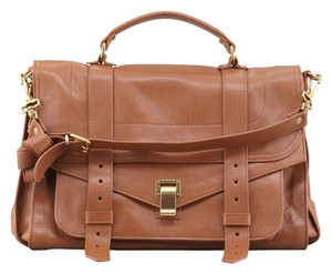Proenza Schouler Satchel in Red Brown