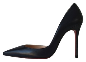 Christian Louboutin Iriza 100 Eclipse Navy Pigalle Follies Iriza Blue Pumps