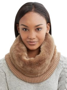 Banana Republic Faux Fur & Knit Neck Warmer