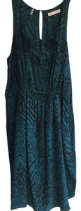 Rebecca Taylor short dress Turquiose on Tradesy