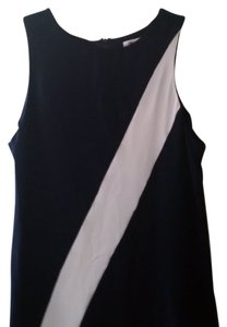 Alice + Olivia short dress Navy/White on Tradesy