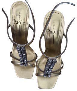 Linea Paolo silver / gold Sandals