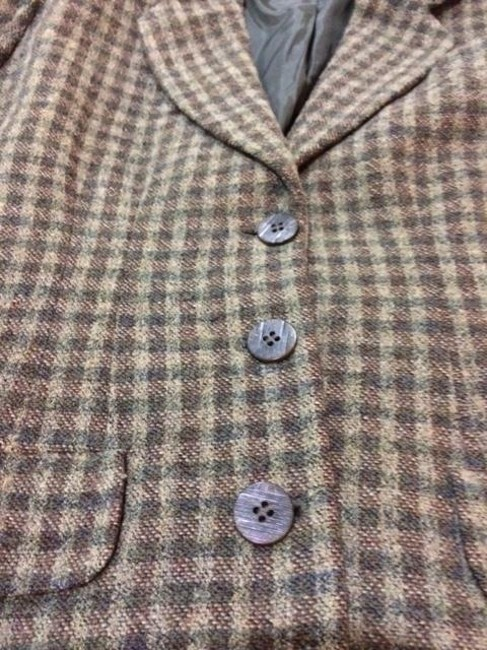 Country Road Classic Wool Plaid Green Jacket