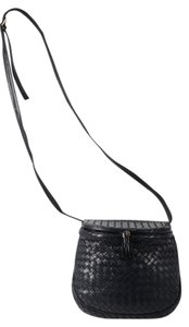 Bottega Veneta Vintage Woven Intrecciato Cross Body Bag