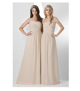 Bari Jay Beige Bari Jay 877 Dress