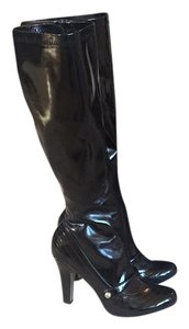 MIA Glossy Black/PATENT LEATHER Boots
