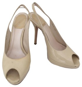Dior Beige Pumps