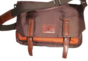 M.A.R.S.E.A, brown/burnt orange Messenger Bag