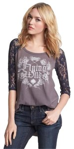 Free People T Shirt Grey