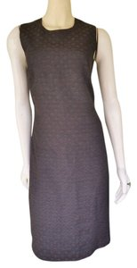 Donna Morgan short dress Brown Jacquard on Tradesy