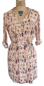 Dolan short dress pink motif Boho Aztec on Tradesy