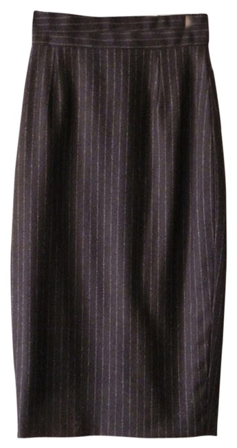 Brooks Brothers Skirt navy, striped