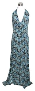 Blue Green Maxi Dress by CAbi