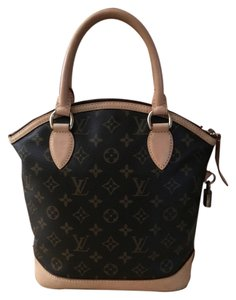 Louis Vuitton Lockit Vertical Lockit Dustbag Included Satchel in Monogram