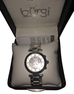 brgi brgi women's silver watch