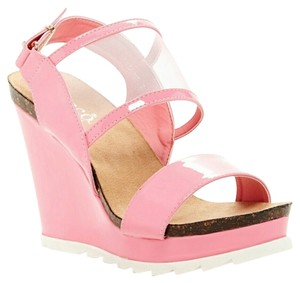 Bucco Pink Wedges