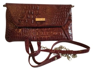 Nine West Burgundy Clutch