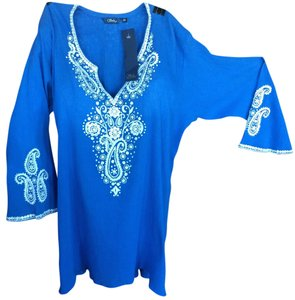 Sulu Collection Lightweight Hand Embroidered Tunic