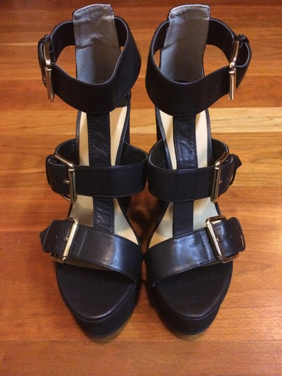 Tony Bianco Black Platforms
