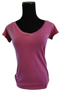 BDG V-neck Urbanoutfitters T Shirt Pink