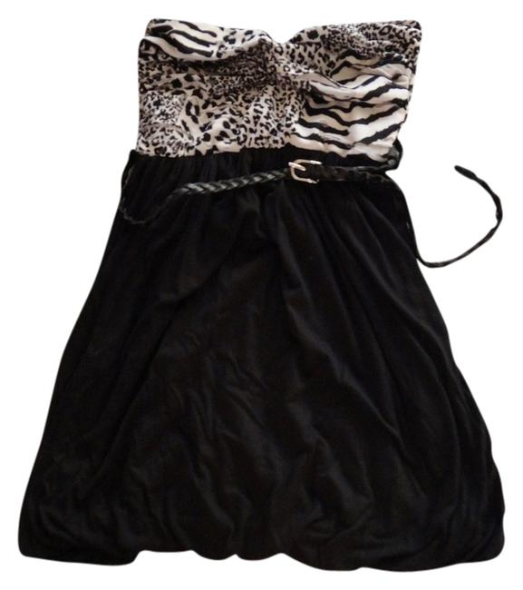 Preload https://item2.tradesy.com/images/bloom-black-white-belt-zebra-leopard-mini-cocktail-dress-size-4-s-1245716-0-0.jpg?width=400&height=650