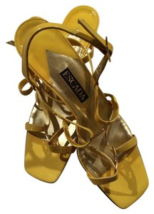 Escada Yellow Sandals