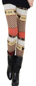 OASAP Thick Multi Winter multicolor Leggings