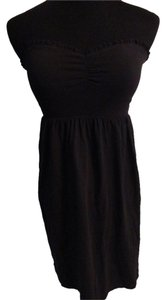 Forever 21 short dress Black Simple Strapless Mini on Tradesy