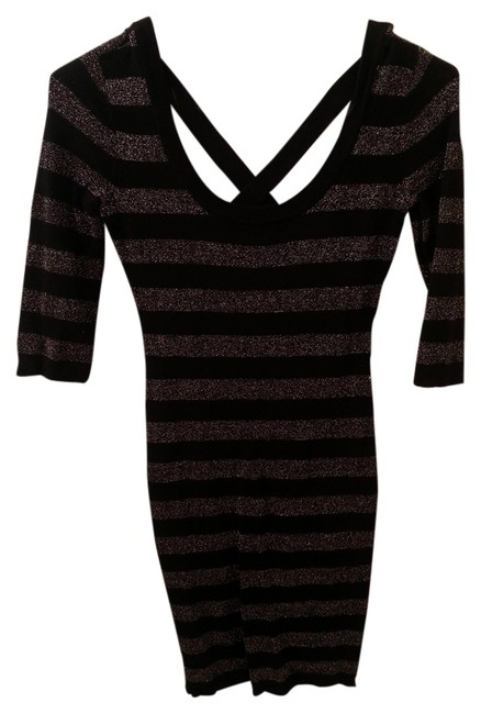 Preload https://item5.tradesy.com/images/guess-black-and-gold-g-by-above-knee-night-out-dress-size-2-xs-1245774-0-0.jpg?width=400&height=650