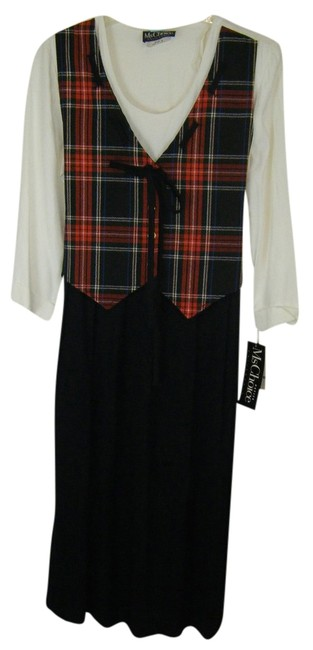 Preload https://item3.tradesy.com/images/black-and-white-and-plaid-8p-looks-like-2pc-wht-top-skirt-vest-1pc-mid-length-workoffice-dress-size--1245787-0-0.jpg?width=400&height=650