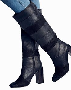 Jeffrey Campbell Mariana Boot black combo Boots