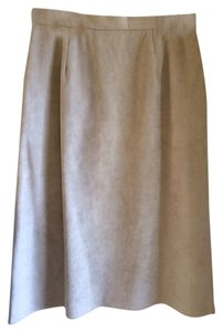 the wool shop Skirt Nude Neutral Tan Taupe