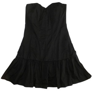 Express short dress Strapless Flared on Tradesy