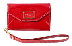 Michael Kors Mini Mk Iphone 4s/4 Detachable Strap Wristlet in Red