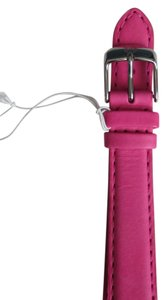 Michele Nwt Michele Authentic Bright Pink Leather 16MM Watch Band