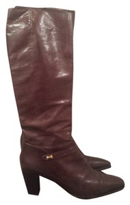 Salvatore Ferragamo brown red/ cognac Boots