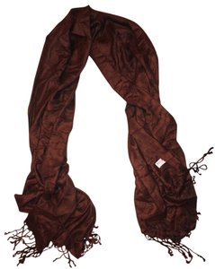 Other Pashmina Fringe Hem Long Boho Scarf Shawl Wrap