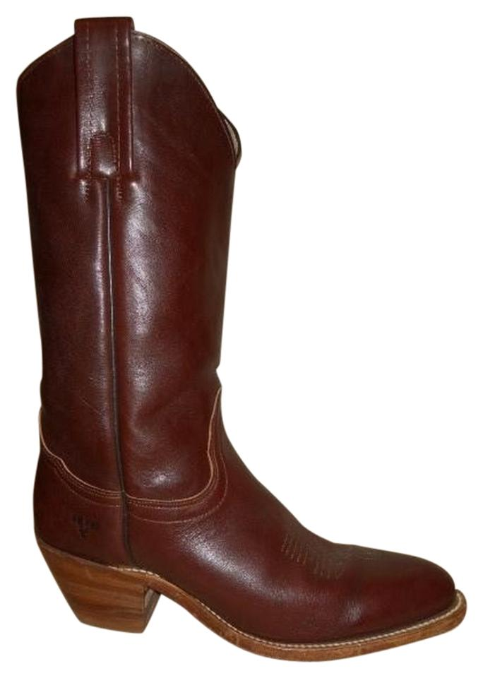 LADY Frye newest Brown Western Boots/Booties The newest Frye style 184e4d