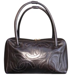 Chanel Made In Italy Large Excellent Pitch Tote in Black